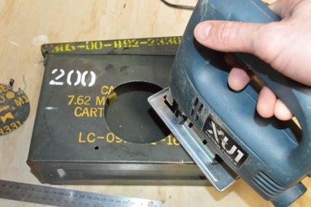 Cutting the Speaker Hole