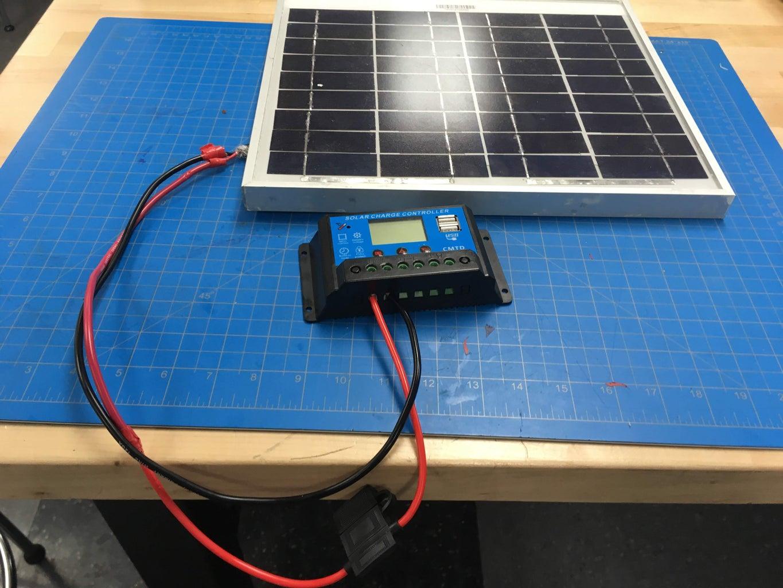 2. Solar Panel Setup