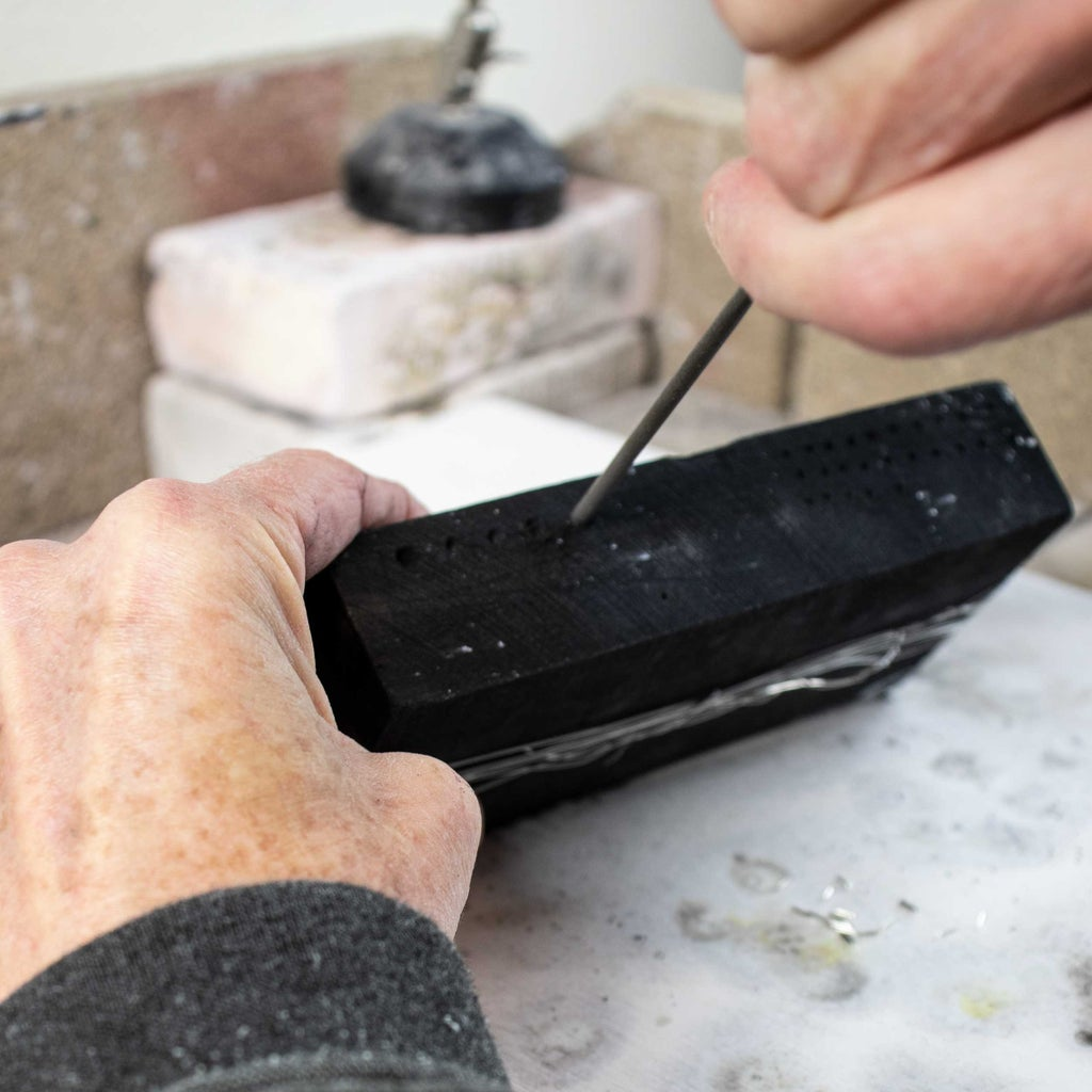"""The Charcoal Block """"Mold"""" [Video Timestamp - 0:55]"""