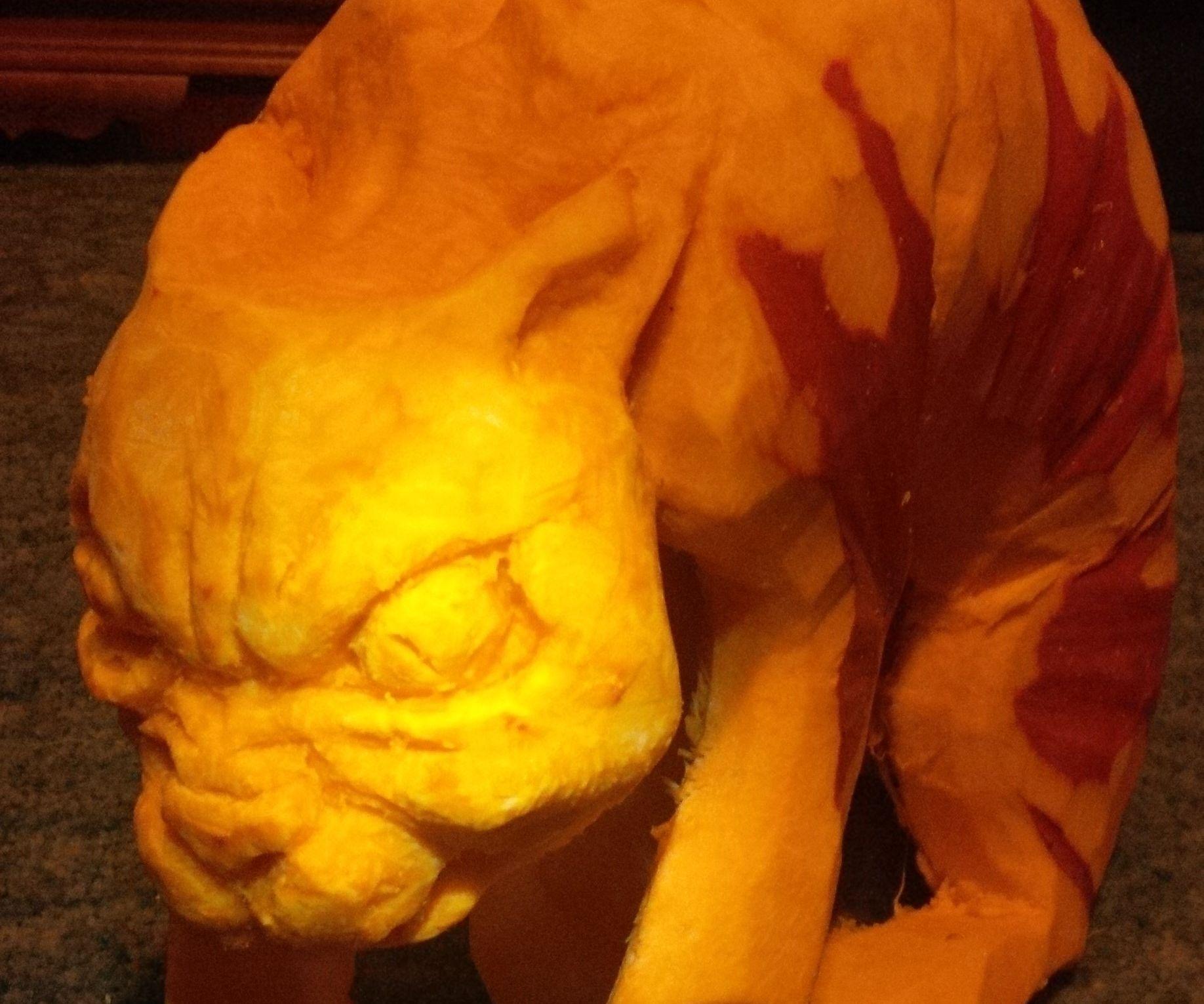 Evil Pumpkin Cat!