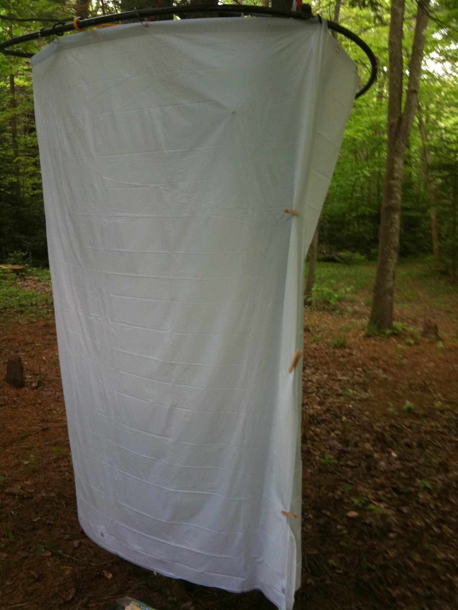 DIY Camp Shower Enclosure