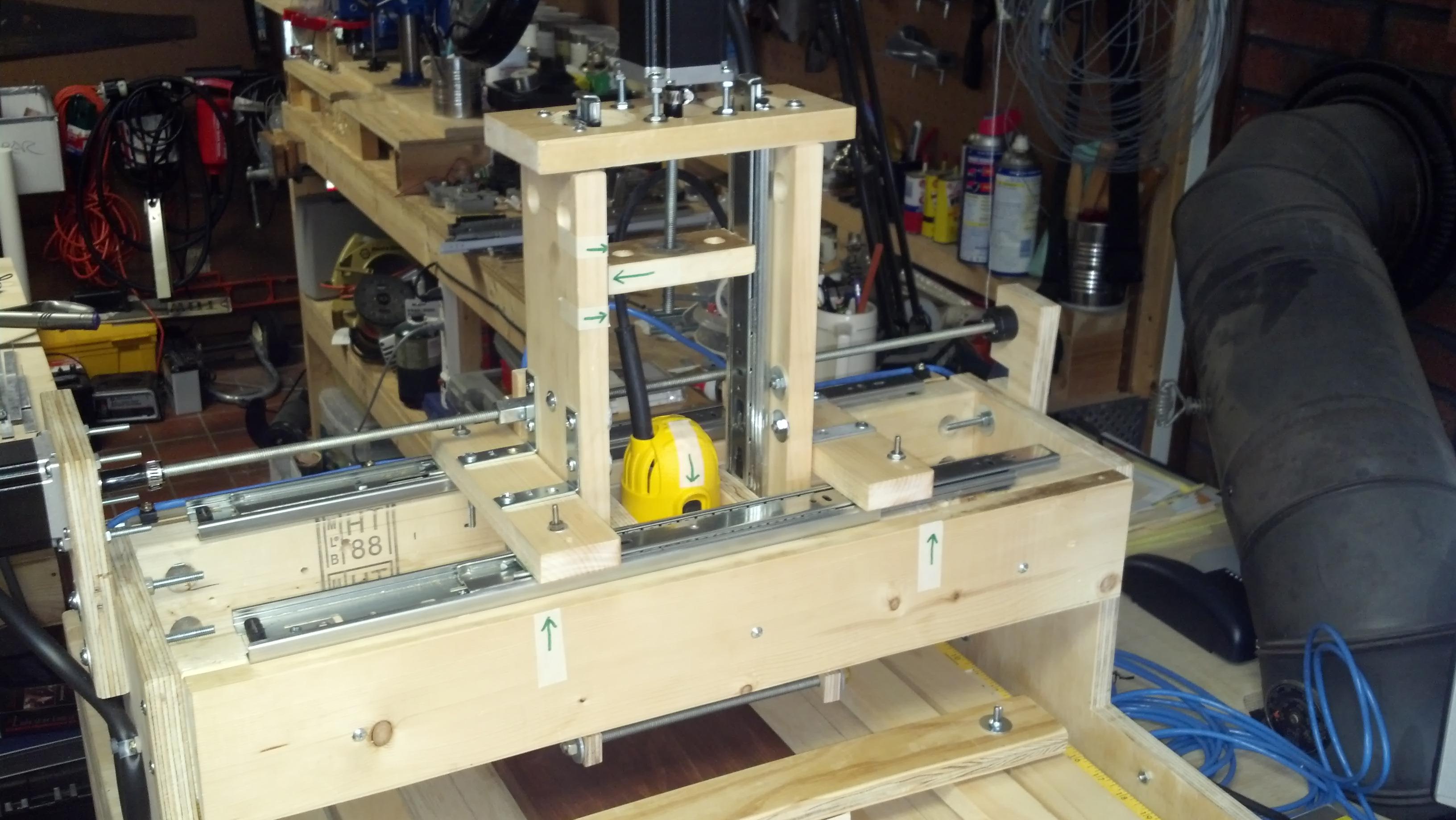 DIY Drawerslide CNC Machine - Gantry Re-design