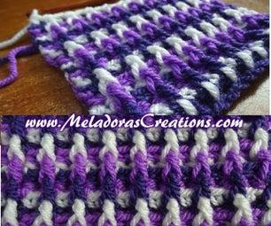 Dimensions Scarf \ Afghan – Free Crochet Pattern