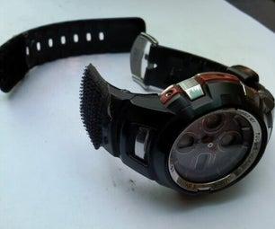 Velcro Fix for a Broken Watch Strap