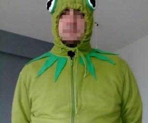 Easy Frog Costume. Disfraz De Rana Sencillo.