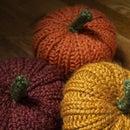 Gourdgeous Knit Pumpkins