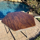 """""""Distressed Plank/s"""" Birch Plywood Table"""