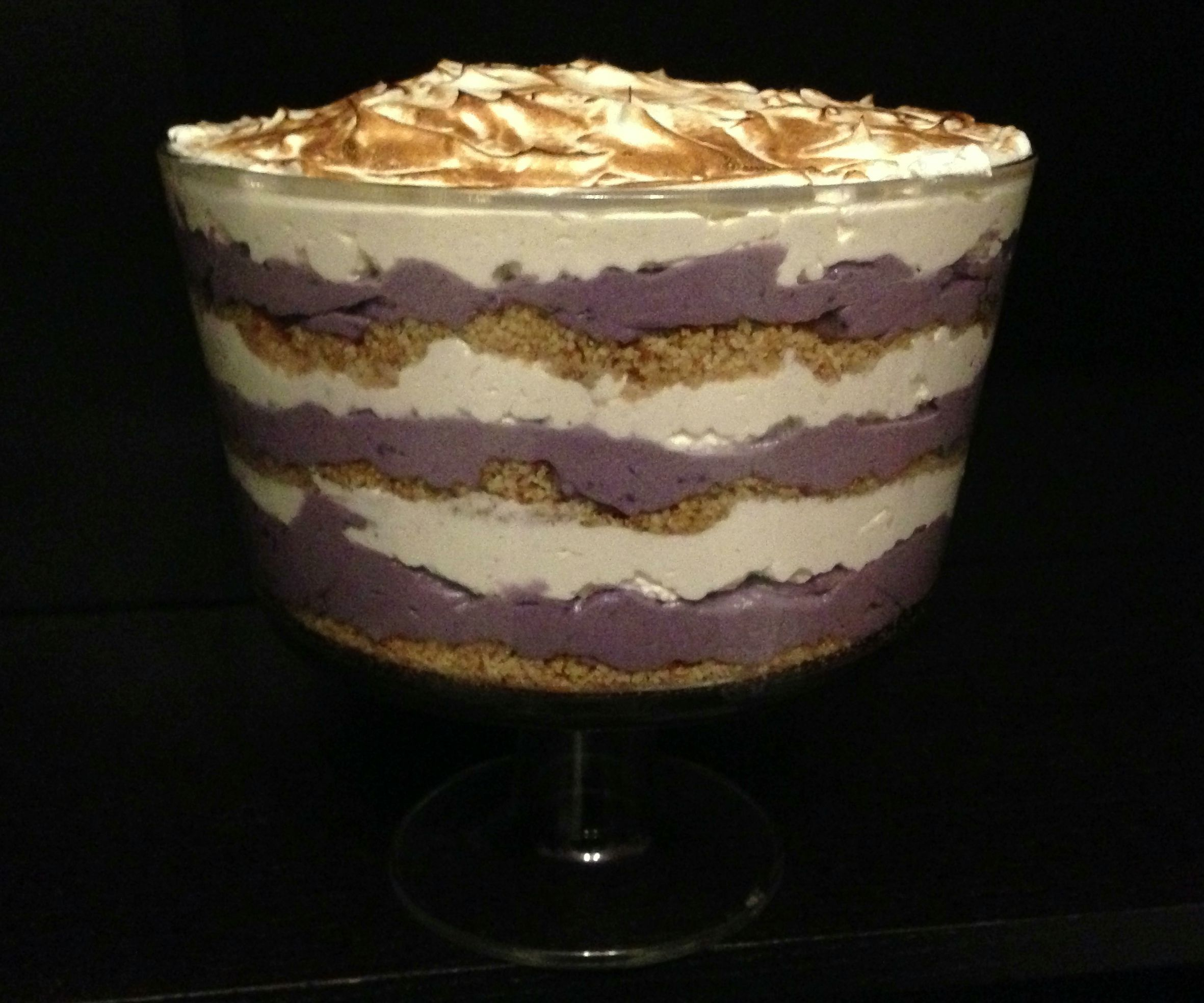 Purple Sweet Potato Parfait
