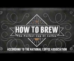 如何酿造完美的咖啡