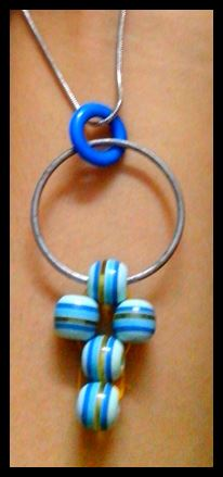Cute Bead Pendant in a Jiffy