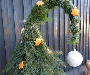 Easy Whimsical Christmas Trees From Branches