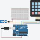 Arduino Micro Servo Keypad