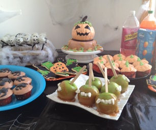 Party Table and House Decoration Idea: Halloween Party