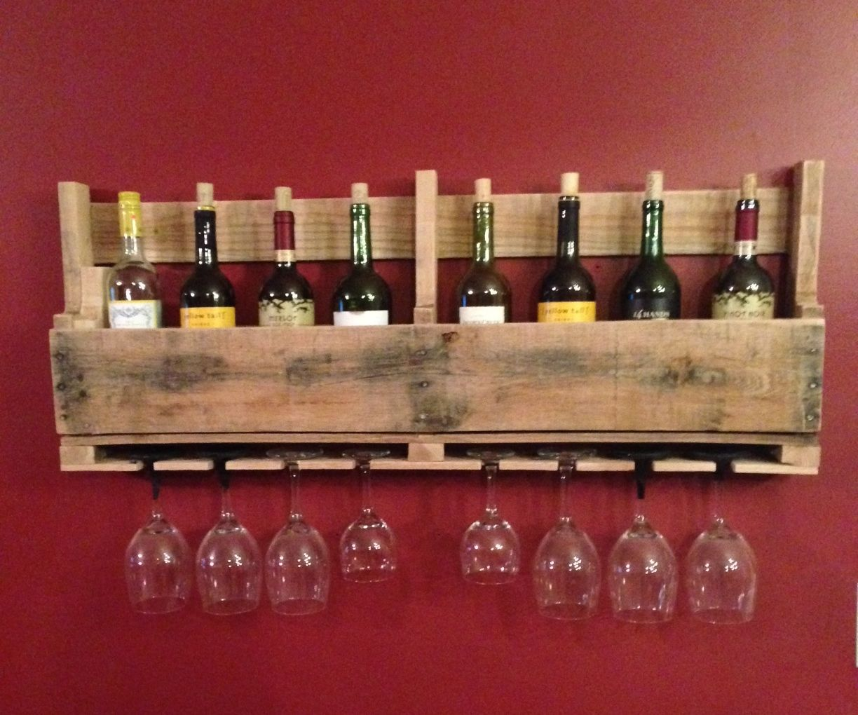 Pallet Wine Rack 9 Steps With Pictures Instructables