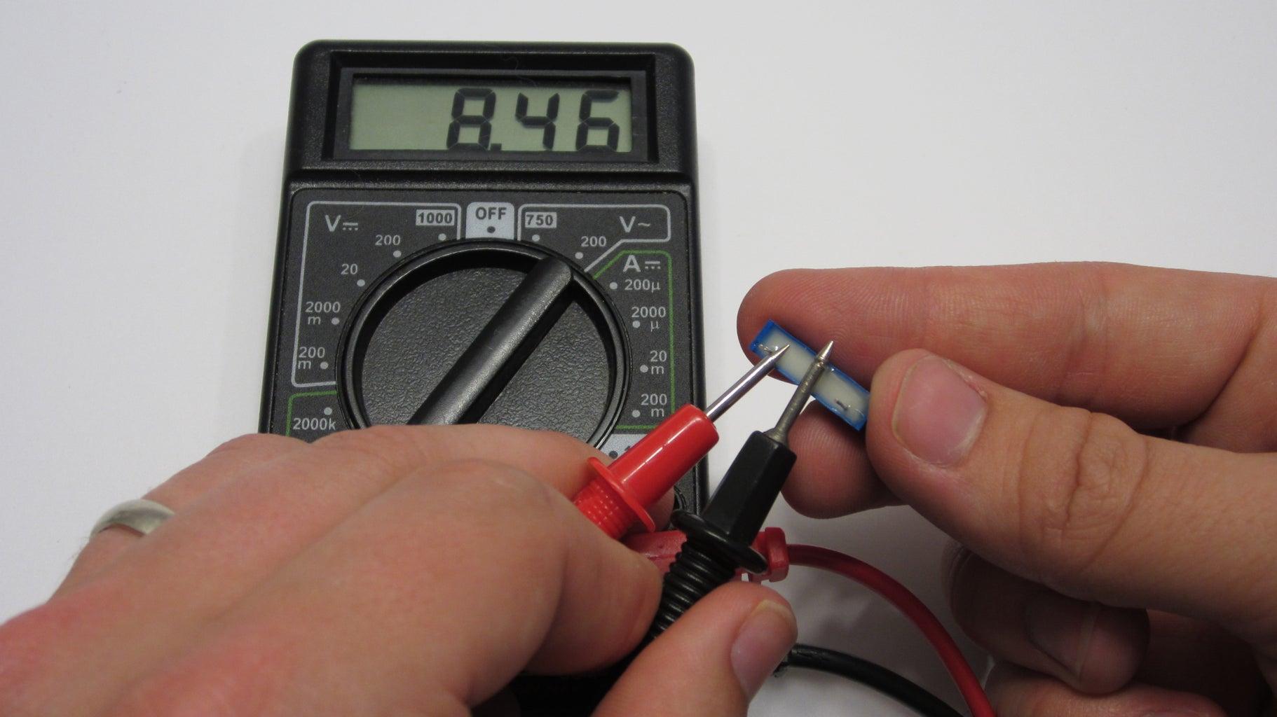 Preset the Potentiometers