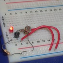 light detector, no microprocessors, just simple electronics :)