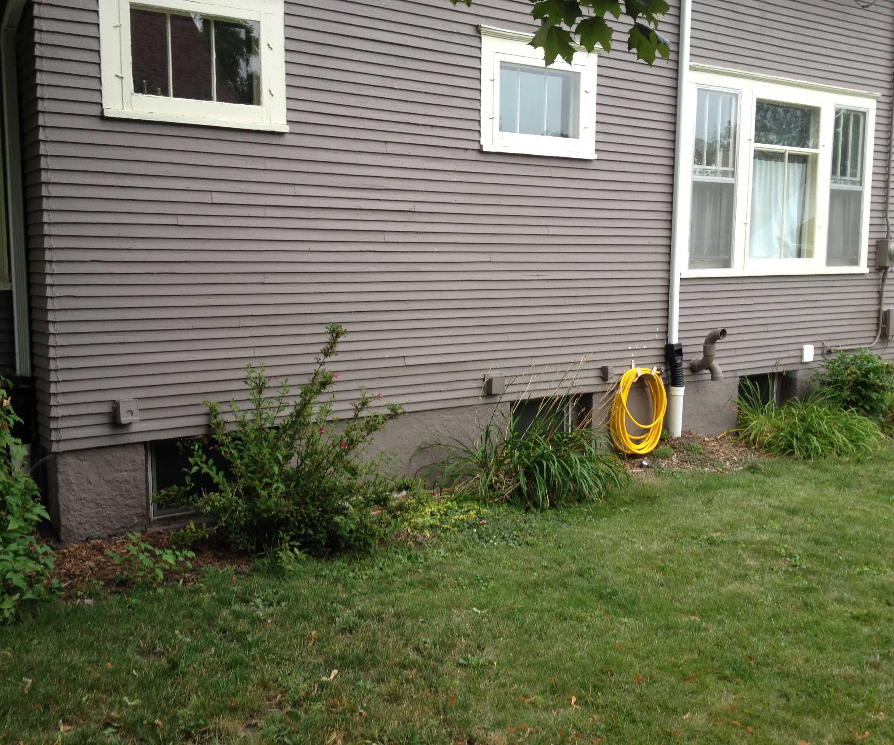 Bury your Gutter Downspouts