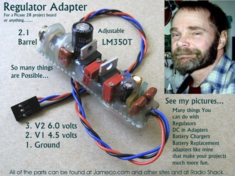 Playing with Voltage Regulators