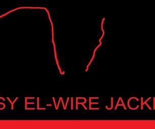 Glowing EL Wire Jacket!