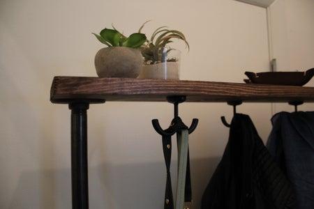 Add Top Wooden Shelf