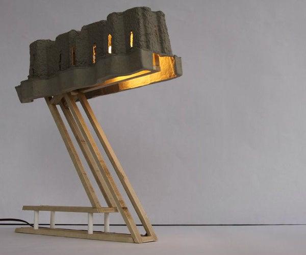 1$ Desk Lamp