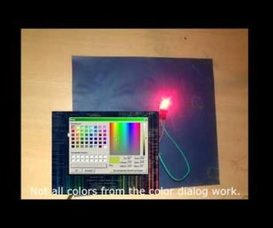 Arduino & C# - RGB LED / LED STRIP CONTROL C# Application