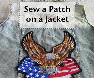 Sew a Patch on a Jacket