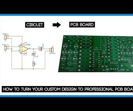How to Turn Your Design to Professional PCB Board   My Approach