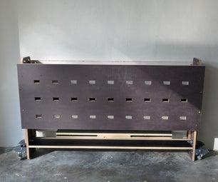 工作台x  - 一个可折叠的工作台进入车库或车间