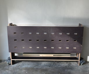 Workbench X - a Foldable Makers Bench Into a Garage or Workshop