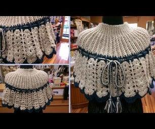How to Crochet Cape (Mantella All'uncinetto)