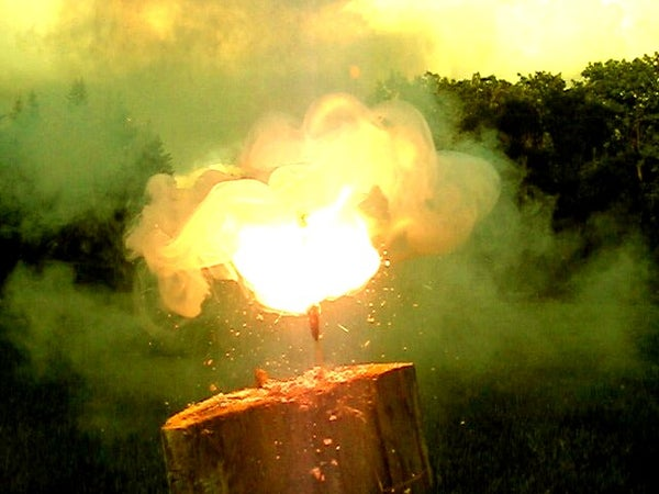 How to Make Fireworks With Marshmallows?!