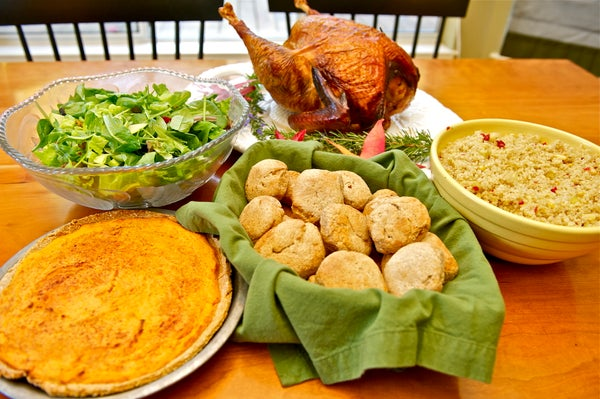 Healthy Thanksgiving Feast