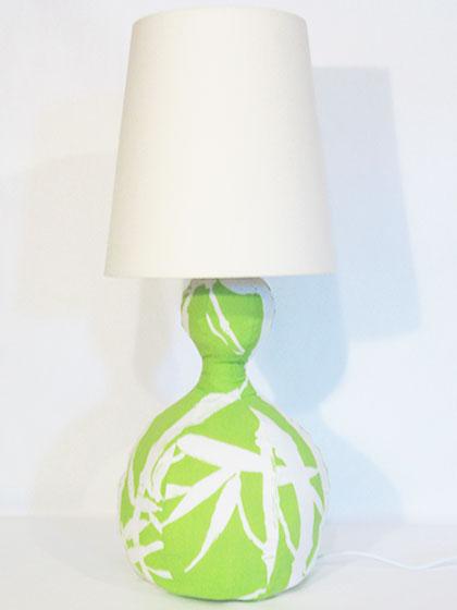 Make a Fabric Lamp