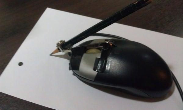 Mouse-Pencil (Chindogu Challenge)