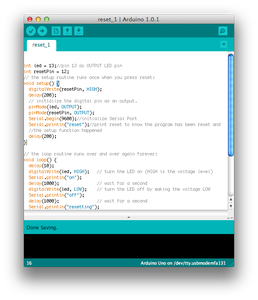 Two Ways to Reset Arduino in Software