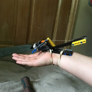 Lego Technic Spider-Man Web Shooter Functional!
