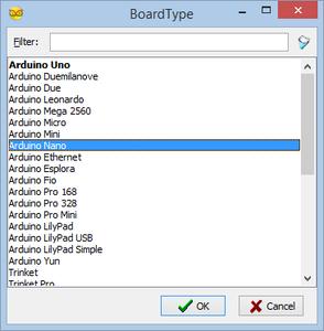 Start Visuino, and Select the Arduino Board Type
