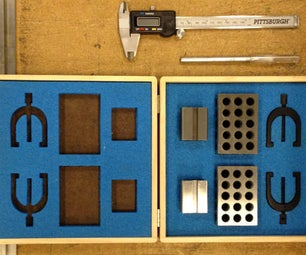 Laser Cut Foam Inserts for Tool Boxes