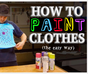 How to Paint Clothes