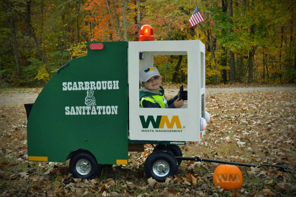 Garbage Man Costume
