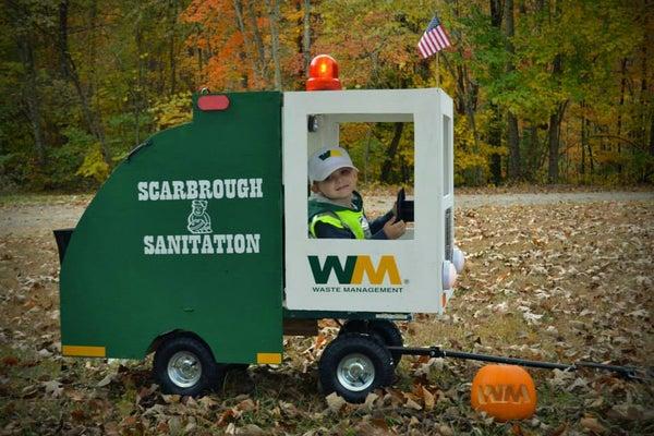 Garbage Man Costume