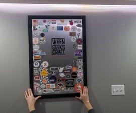 Simple Magnet Sticker Board