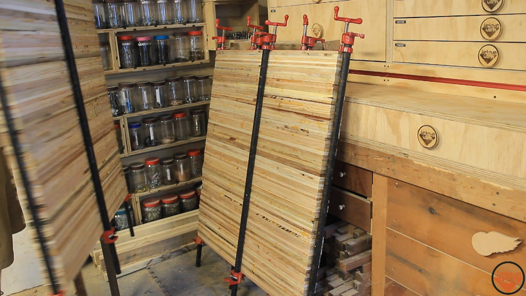 Bench Top Glue-Up
