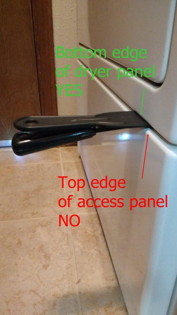 Remove the Access Panel