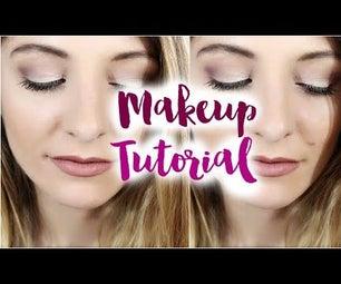 Makeup Tutorial Ft. TheBalm Meet Matt(e) Trimony Eyeshadow Palette