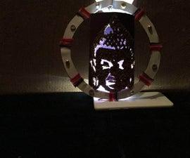 Buddha Idol, Made Out of Wood Husk!