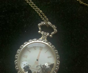 Necklace From Old/Broken Pocket Watch