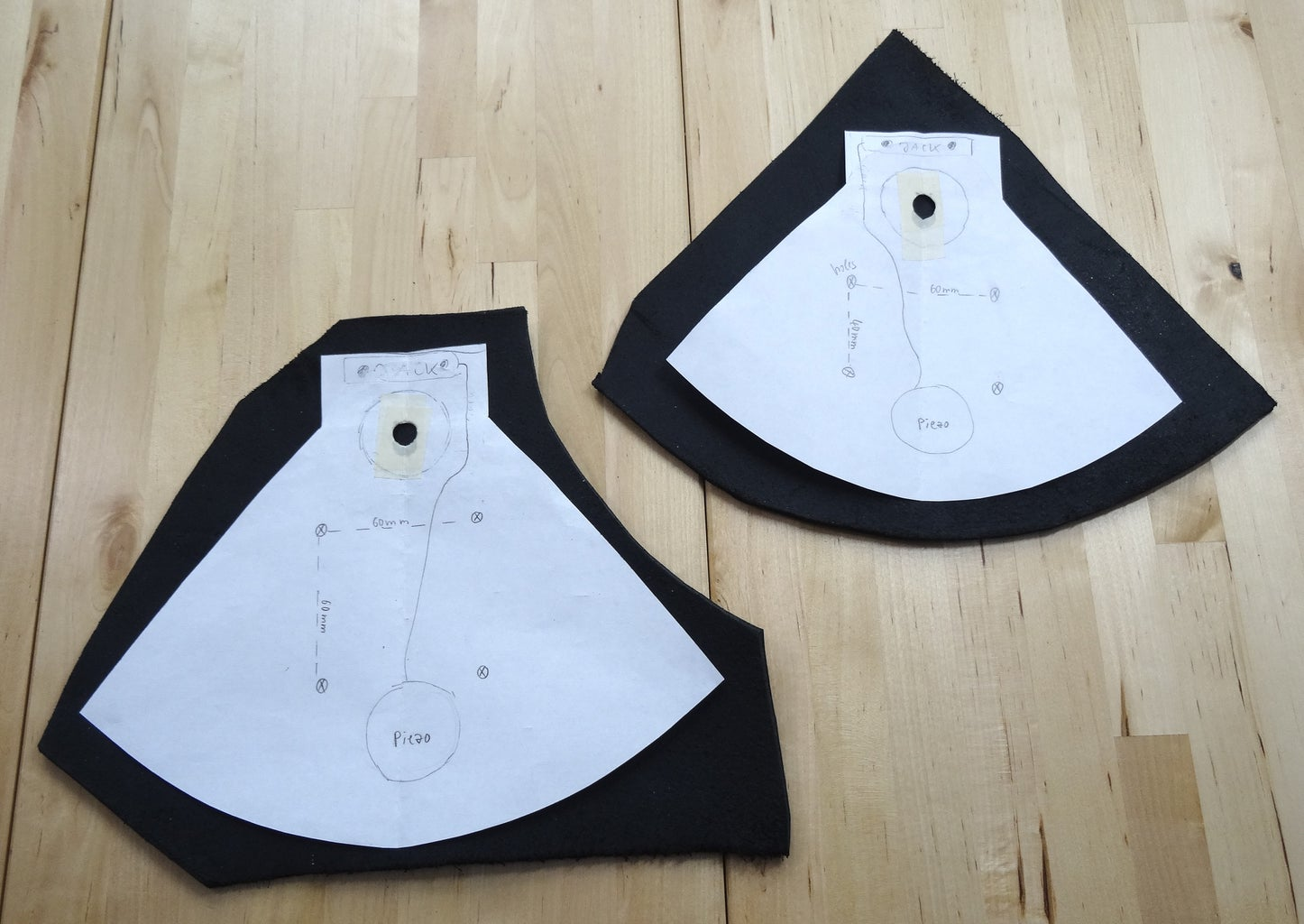 The Leather Cymbal Pads
