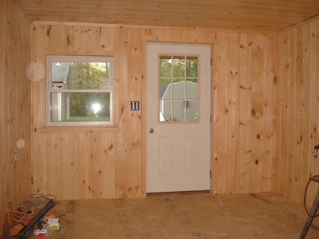 How To Finish The Inside Of A 12 X 20 Cabin On A Budget 19 Steps With Pictures Instructables